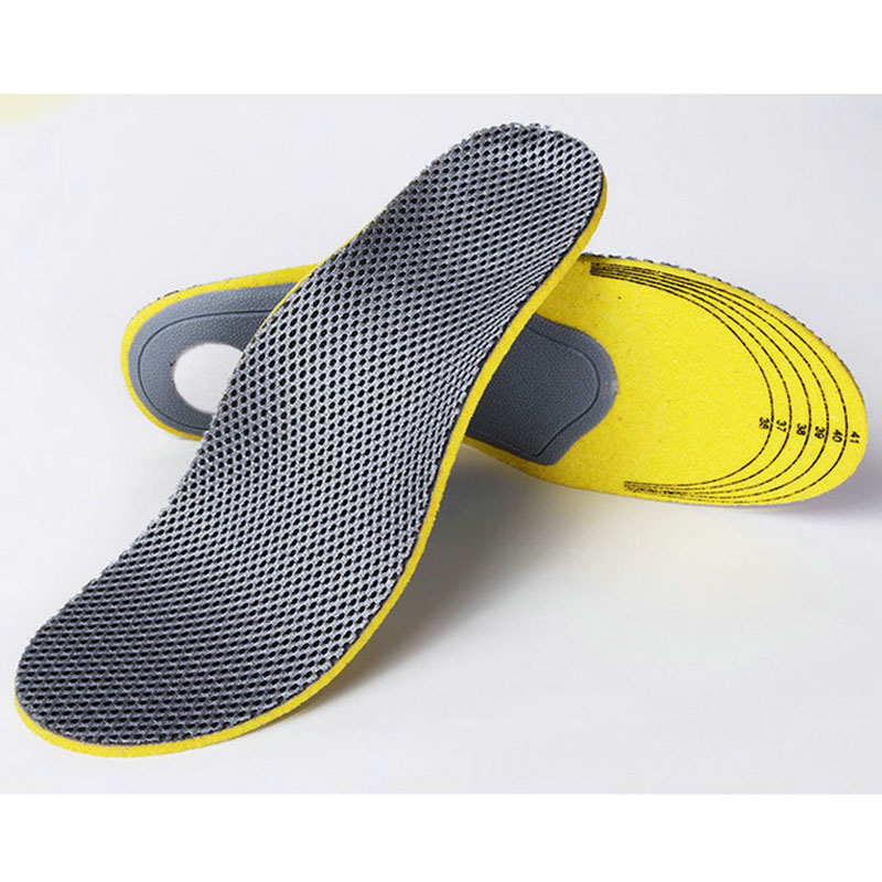 Hot Sale Bamboo Insole Unisex EVA Orthotic Arch Support Sport Shoe Pad Sport Running Gel Insoles Insert Cushion For Men Women