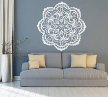 Wall Decal Mandala Boho Vinyl Sticker Living Room Bedroom Decor Wall Art Yoga Decals Mural Home Decorations Wallpaper G191