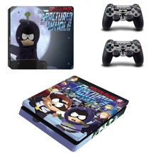 Anime South Park PS4 Slim Skin Sticker Decal Vinyl for Playstation 4 Console and Controller PS4 Slim Skin Stickers