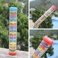 3 размер трещотки младенца дождь звук игрушки / орф музыка инструментальная Rainmaker шейкер дети по уходу за детьми раннего обучения развивающие игрушки колокольчик