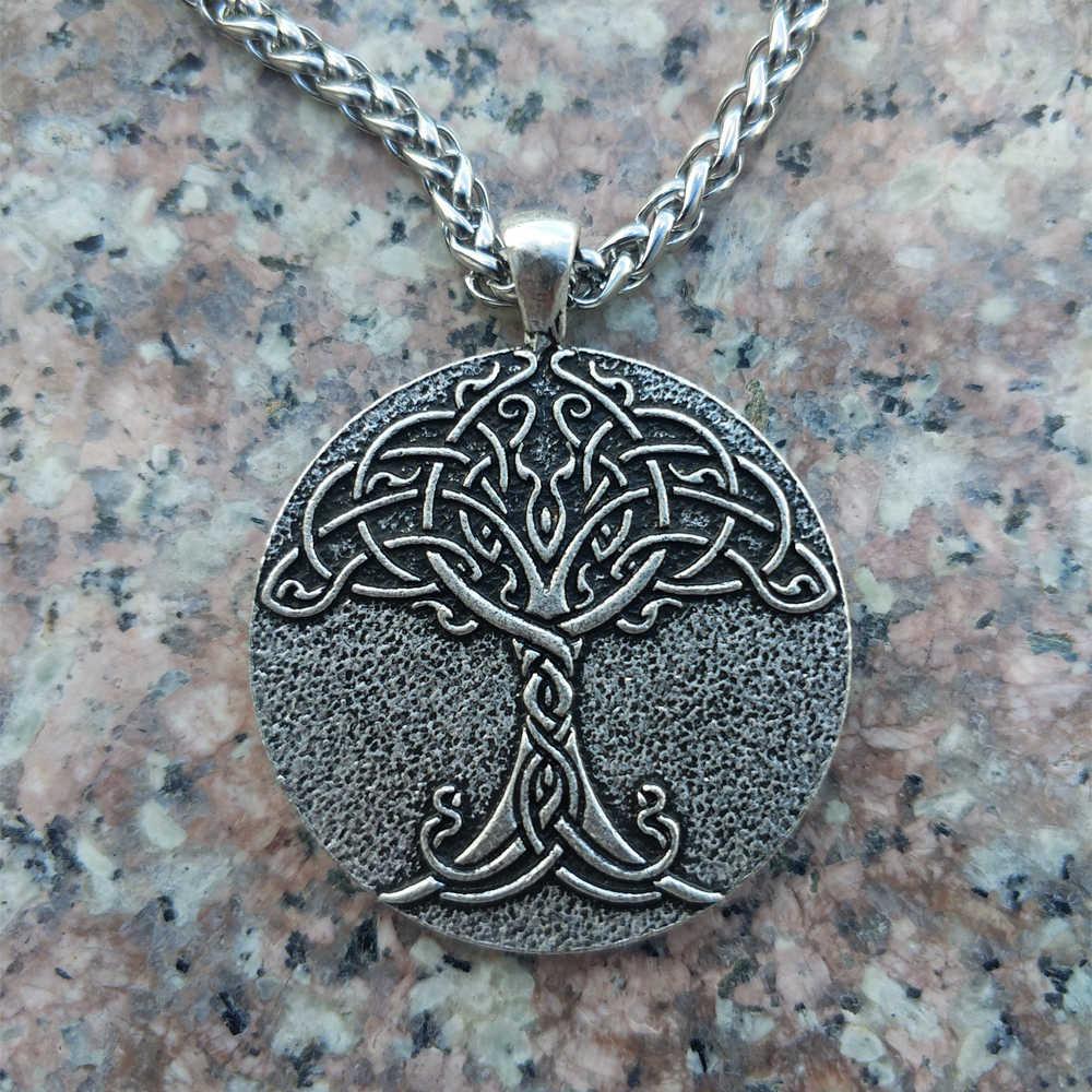Yggdrasil World Tree Necklace Viking