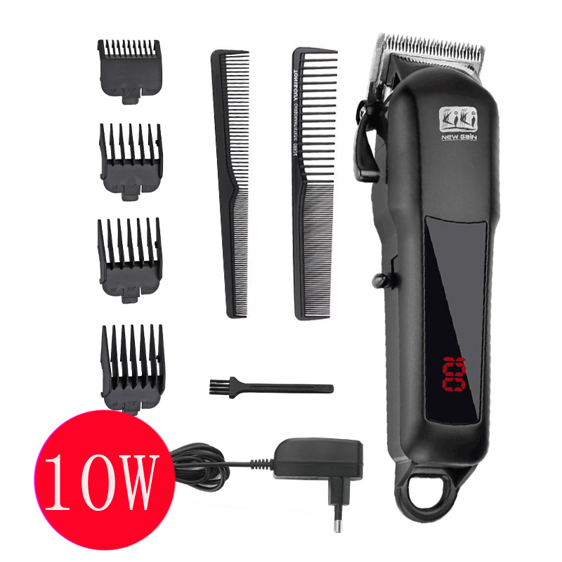 new design Mini rechargeable Professional Hair cutter Hair Trimmer Lithium battery 100-240V NG-888 with Lcd display 2018 hair clipper rechargeable professional hair cutter hair trimmer lithium battery ng 888 with lcd display and tool box