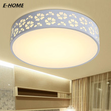 Promotion High Bright Small Iron Living Room 64W 24W White led Ceiling mounted luminaire circular Light luminaria