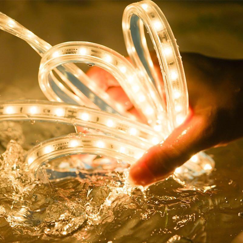 JSEX SMD2835 bande de LED imperméable à l'eau de noël offres éclairage intérieur bandes lumières bande lampe de chambre magasin magasin décoration de jardin