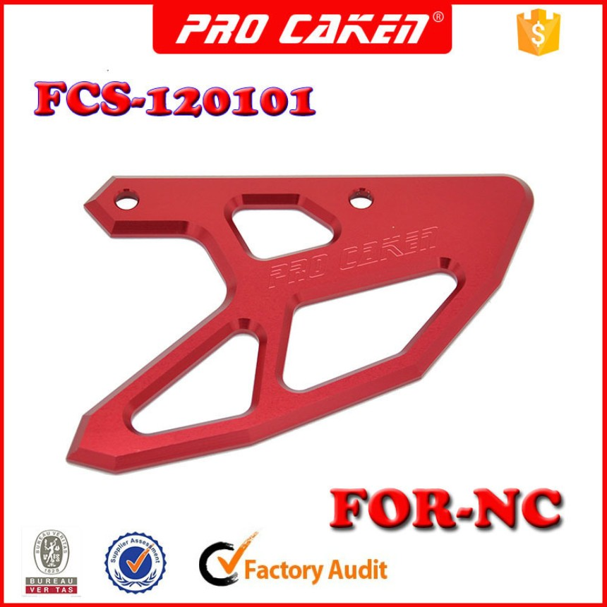 PRO CAKEN CNC Rear Brake Disc Guard Cover Protector for CR 125 250 CR125 CR250 CRF250 CRF450 CRF250X