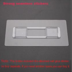 LEDFRE 1 sztuk bezdotykowy silny bezszwowy montaż naklejki ścienne hak nadaje się do serii LF82003 produkty bez dziur bez kleju