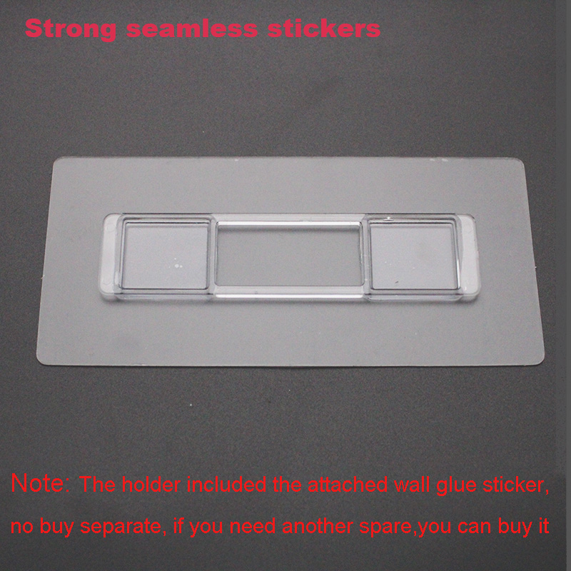 LEDFRE 1PCS Punch-ฟรี strong Seamless ติดตั้งสติ๊กเกอร์ติดผนังตะขอเหมาะสำหรับ LF82003 Series ผลิตภัณฑ์ไม่มีหลุมไม่มีกาว