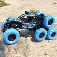 Dropshopping 2019 RC Car 4WD 6Wheels Climbing Cars Electric Remote Control Toy On The Radio Controlled Drive Off Road Truck Gift