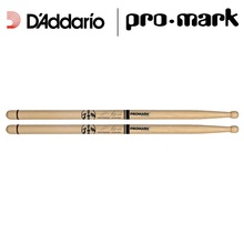 "Promark by D'addario ""Bring Your Own Style"" BYOS Marching Drumsticks, Hickory Oval Wood Tip"