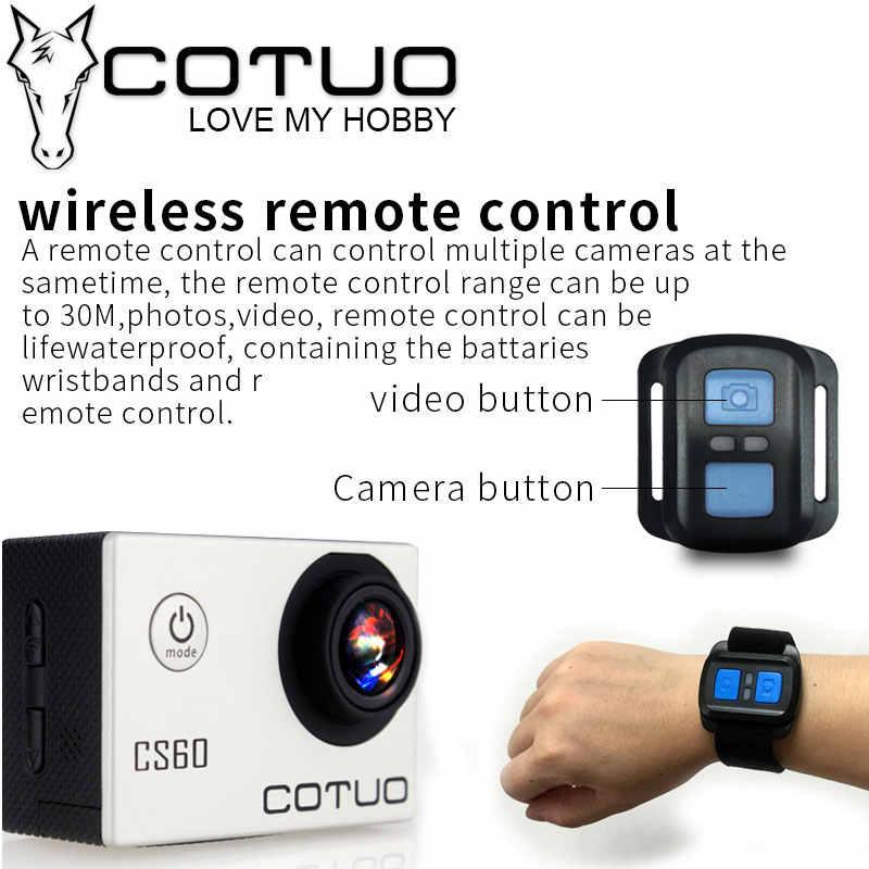 """COTUO CS60 4 K 30fps Wi-Fi 16MP экшн-камера со сверхвысоким разрешением Ultra HD, 170D 1080 P 720 P 120fps go с водонепроницаемым чехлом и возможностью погружения на глубину до 30 м pro 2,0 """"ЖК-дисплей Спортивная камера с защитой от вибрации"""