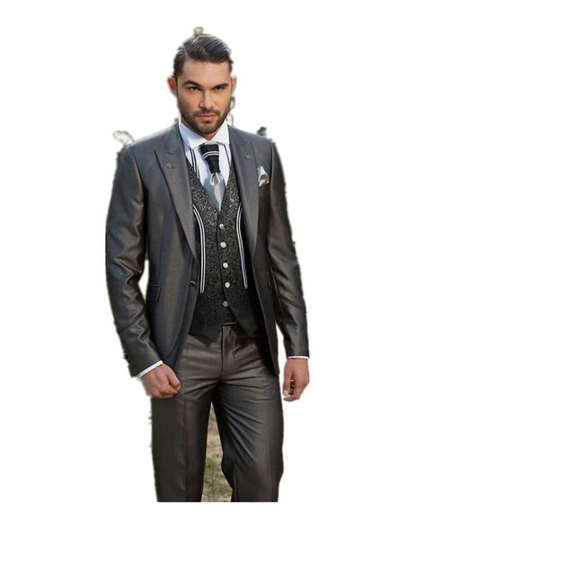 Fashion Casual Man Suit Dress Vest Tie Future Bride And