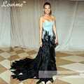 Oscar Off the Shoulder Celebrity Dress Tires Skirt Embroidery Red Carpet Dress Mermaid Evening Dresses Long Vestido De Festa