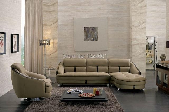 2016 Sitzsack Chaise Verkauf Muebles Bolsa Real Sofa Modernen Italienischen  Stil Leder Ecke Sofas Für Wohnzimmer
