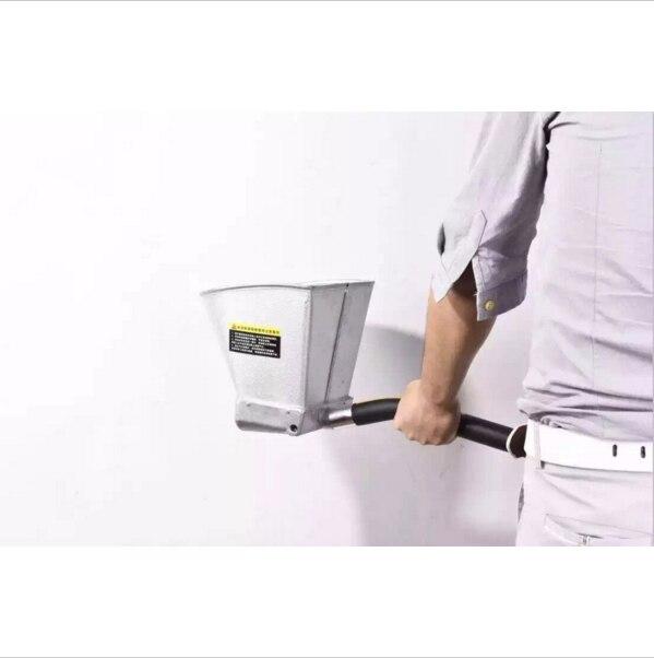 Pulverizador profesional de yeso | Pistola de cemento con pulverizador de estuco pistola de tolva con gatillo manual de 4 boquillas Termine el trabajo más rápido
