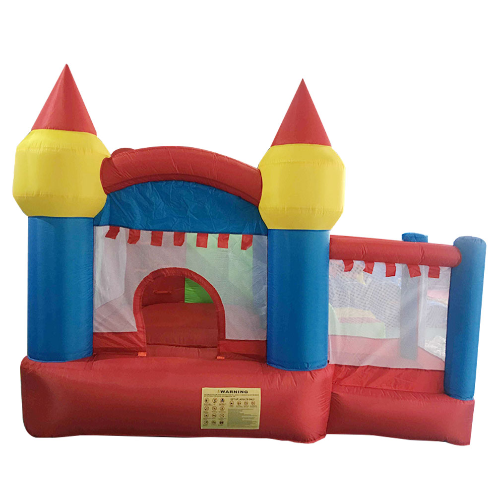 YARD Inflatable Jumper Bouncy Castle Nylon Bounce House Jumping House Trampoline Bouncer with Free Blower for Kids yard residential inflatable bounce house combo slide bouncy with ball pool for kids amusement