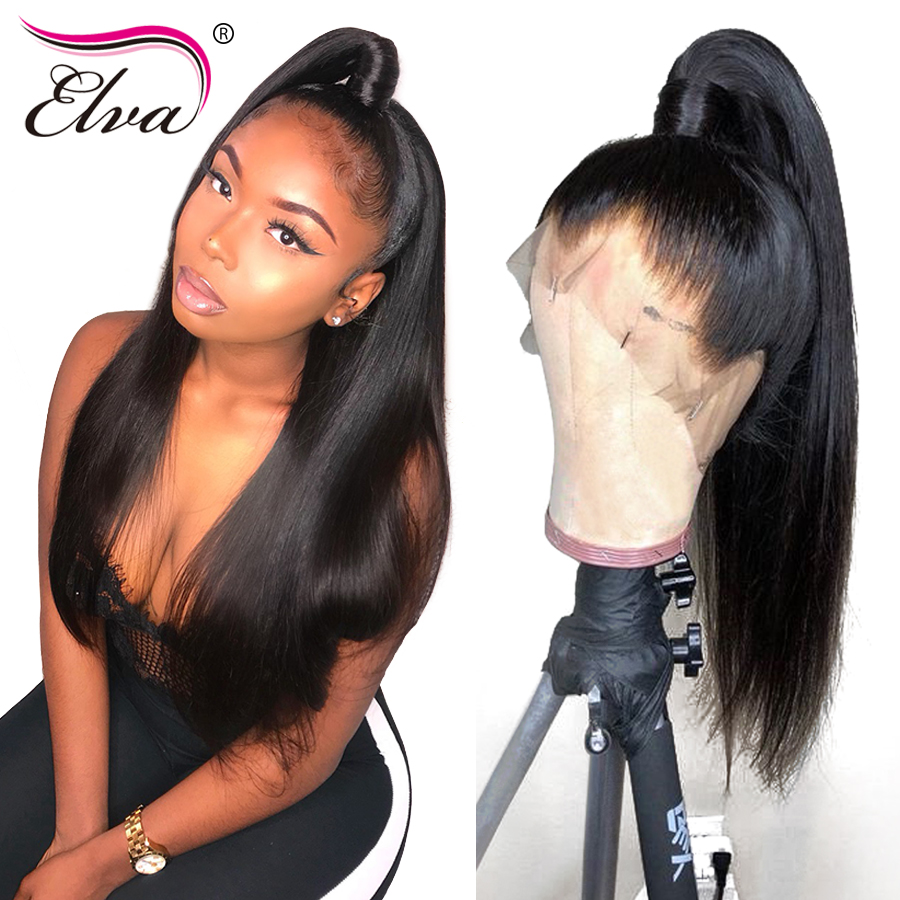 180 Density 360 Lace Frontal Wig For Women Brazilian Remy Human Hair Wigs With Baby Hair