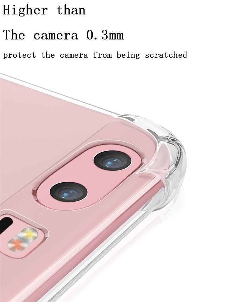 עבור Huawei P20 פרו P10 לייט 2017 Mate 9 10 פרו לייט נובה 2 2i כבוד 6A 6X7X9 6C 8 פרו מקרה עמיד הלם TPU ברור סיליקון מקרי