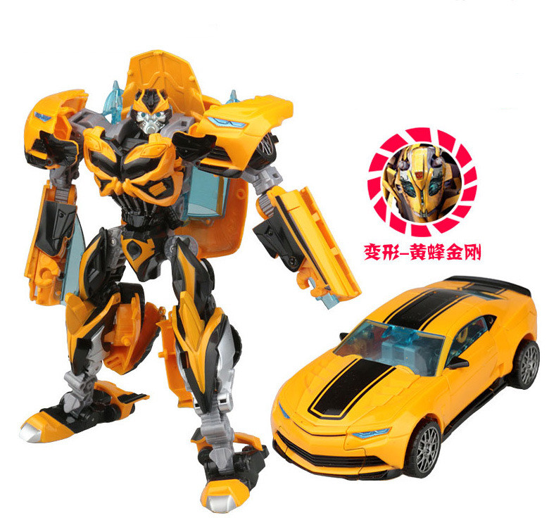 Cool Robot Car Transformation Toys Kids Bumblebee Toy Anime Transformation Robot Action Figure Mobel Christmas Gift For Children (2)