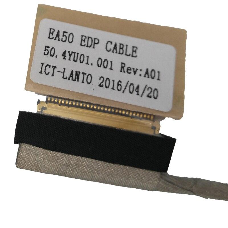 Купить с кэшбэком New LCD Cable For ACER aspire E1-522 E1-522G MS2384 For Gateway NE522 Laptop Video Flex  50.4YU01.001 50.4YU01.011 30Pin