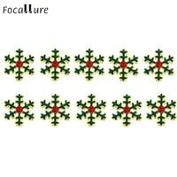 10PCs Christmas Gadget Alloy 3D Rhinestone Nail Art Slice Manicure Decoration DIY P30 Feb8 Dorpship