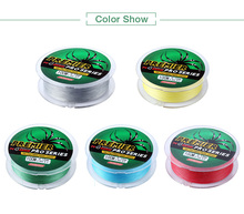 PRO BEROS 100M Durable Colorful PE 4 Strands Monofilament Braided Fishing Line Angling Accessory Fishing Tool Accessories