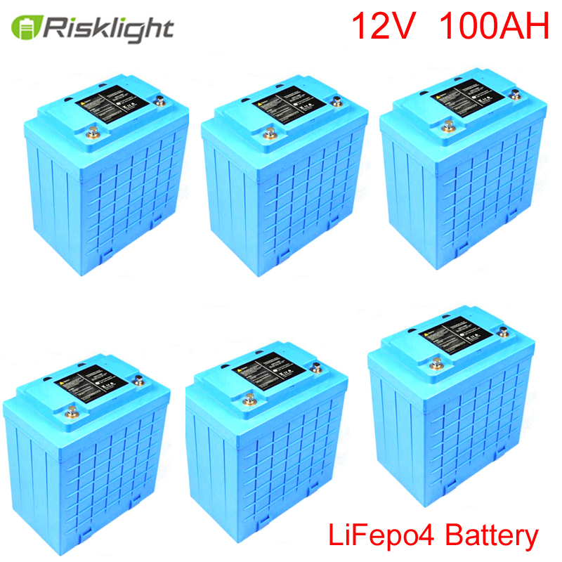 LiFePO4/lithium ion battery/batteries 12v 100ah with 2000 cycles for energy storage/solar system/LED lighting/electric bike electric bicycle case 36v lithium ion battery box 36v e bike battery case used for 36v 8a 10a 12a li ion battery pack