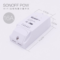 Orginal Sonoff Pow Wireless WiFi Switch ON Off 16A With Power Consumption Measurement For Home Appliance