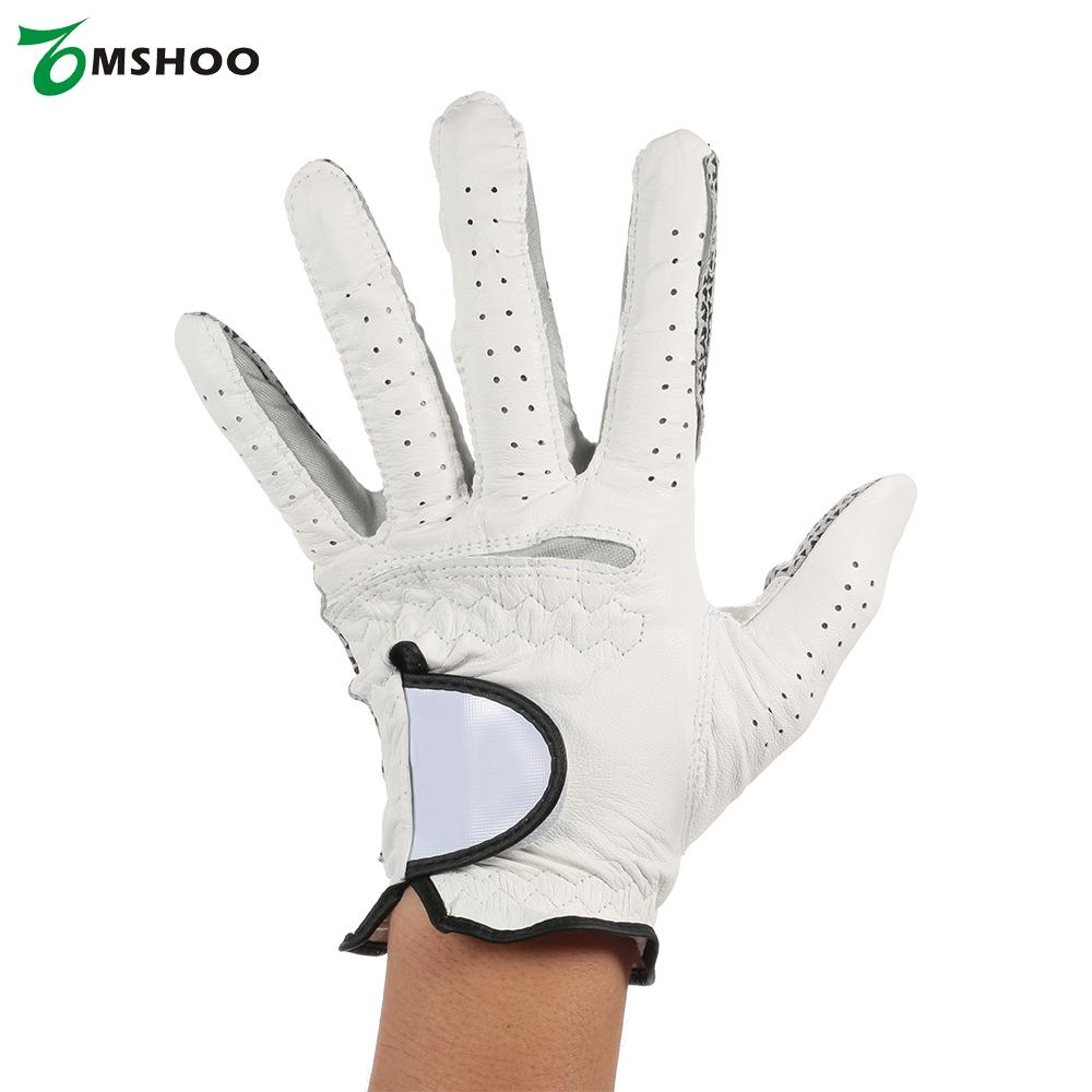 Leather Men's Left Hand Golf Glove Soft Breathable