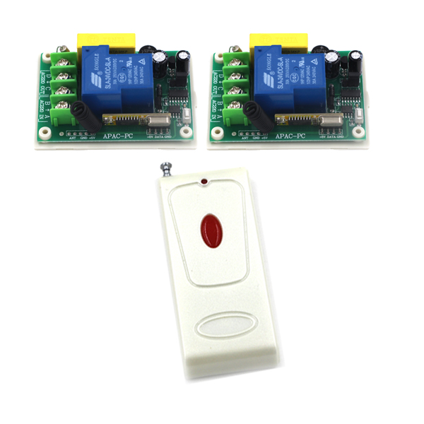 One Way Momentary Toggle Remote switch/ 22V 30A High Power remote control switch/ smart home light switch SKU: 5547 dc24v remote control switch system1receiver