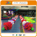 2pcs 10m long,giant inflatable flower decoration,inflatable flower chain  for wedding decoration