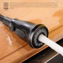 Купить с кэшбэком HPB Kitchen Faucets Sprayer Water Saving Shower Heads High Pressure Sprayer Heads Oil Rubbed Bronze Kitchen Accessories H7404