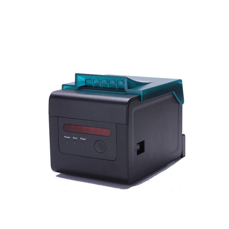 Pos термо принтер 80 мм с автоматическим резаком функцией будильника для кухни HS H81UL USB и порт Ethernet Китай OEM принтера высокого качества