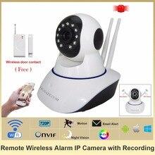 HOSAFE SV01 CMOS de 1.0MP Cámara IP de la Seguridad Casera w/11-IR-LED/Puerta y Ventana Del Sensor/TF Wireless Envío gratis