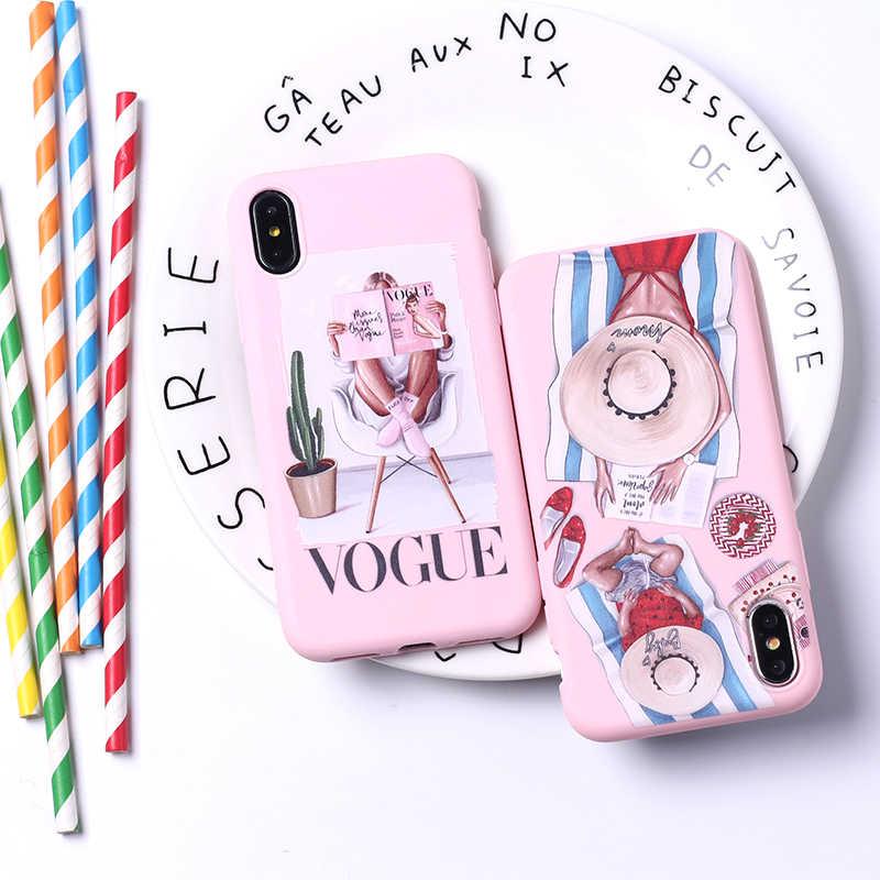 Модный, Королевский, стильный, Париж, для девушек, летний, для путешествий, для мамы, ребенка, мягкий, силиконовый, карамельный чехол для iPhone 11, 6, 8, 8 Plus, X, XS, Max, 7, 7Plus