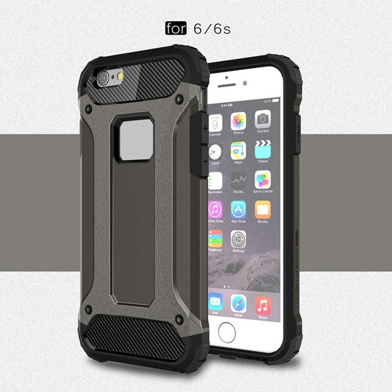 Shop2792227 Store Для iPhone 6 6 s Роскошные Панцири анти-шок силиконовый чехол для iPhone 6 iPhone 6 S чехол iPhone 6 S чехол для телефона