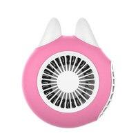 HIPERDEAL 1500mAh Usb Fan Turbo Portable Mini Fans USB Rechargeable Portable Fan Desktop Outdoor Turbine Portable Small Fan