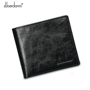 Image 5 - Short Wallets Men Ultra Thin Wallet Genuine Leather Purse Vintage Solid Purses Mens Slim Card Bags High Quality Free Shipping