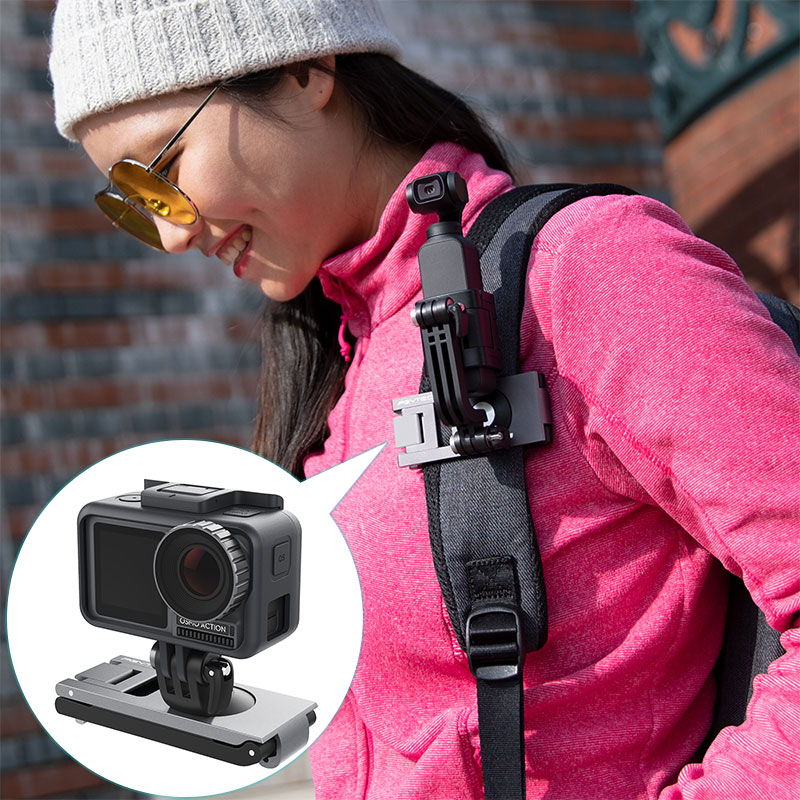 Action Camera Strap Holder Compatible with DJI OSMO Pocket//OSMO Action//GoPro Gimbal Accessories