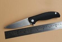 Dicoria F3 con logo Flipper cuchillo plegable lámina D2 rodamiento G10 mango De Acero EDC del bolsillo de la caza del cuchillo de cocina del campamento al aire libre herramientas