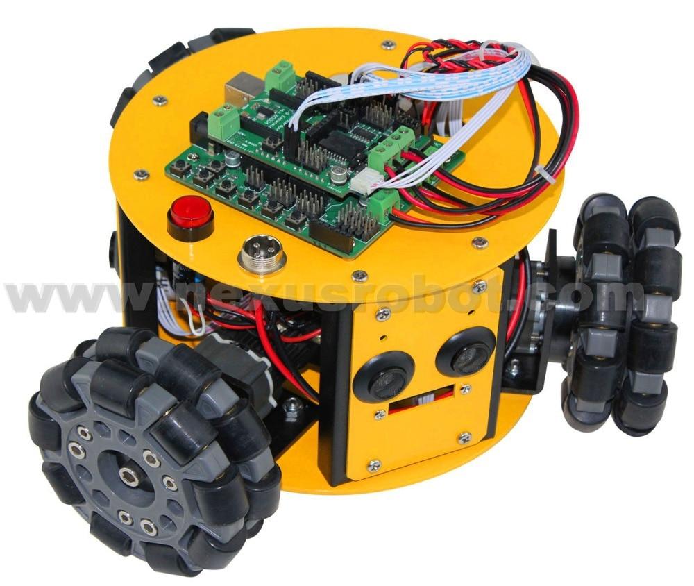 3WD 100mm Omni Wheels Arduino Kit - Escuela y materiales educativos - foto 2