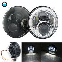 60W 7 inch headlamp for Honda CB400 CB500 CB1300 Hornet 250 600 Front headlamp for honda 7inch led light motorcycle.