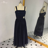 LZF080 Beach Evening Dresses 2018 Lace Crystal Sashes Long Evening Gown Prom Dress
