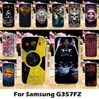 Ojeleye   Mobile     Phone   Cases For Samsung Galaxy Ace 4 LTE G357FZ 4.3 Inch Ace Style Cover Soft TPU Radiation Signal Bags Skin