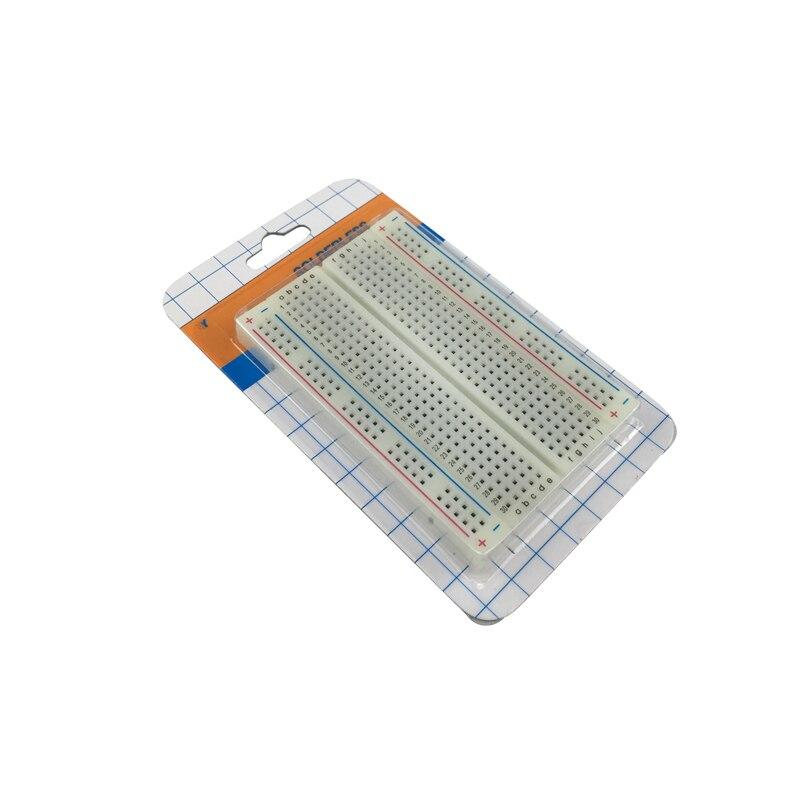 400 Points Solderless Bread Board Breadboard Self-adhesive 400 PCB Test Board For ATMEGA PIC For  For Orange Pi RPI