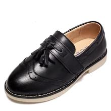 Boys Wedding Leather Shoes for Children Genuine Leather Dres