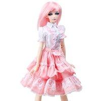 [wamami] 299# Pink Clothes Dress/Outfit MSD DZ 1/4 BJD Dollfie
