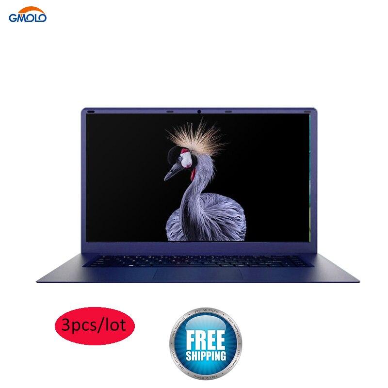 15.6inch Netbook Laptop 3pcs/lot Atom Quad Core 4GB RAM 64GB EMMC 1920*1080 HD Screen Bluetooth WIFI Windows Notebook