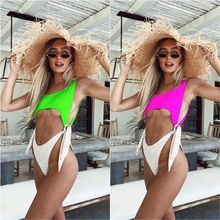exy Swimsuit Women Swimwear One Piece Bodysuit Push Up Monokini Halter Cross Bathing Suits Swim Suit Wear Female Beachwear brazil 2018 high neck sexy swimwear women one piece swimsuit cross back halter lace up swim wear bathing suits bodysuit monokini