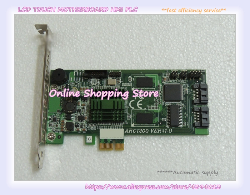 ARC1200 VER:1.0 PCI-E industrial motherboard 100% tested perfect quality