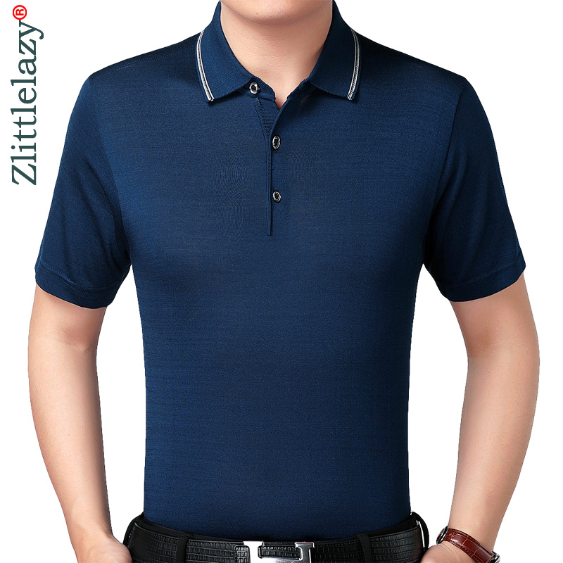 2019 new clothes hot bodybuilding short sleeve   polo   shirt men solid   polos   summer pol tee shirts mens dress poloshirt jersey 8760